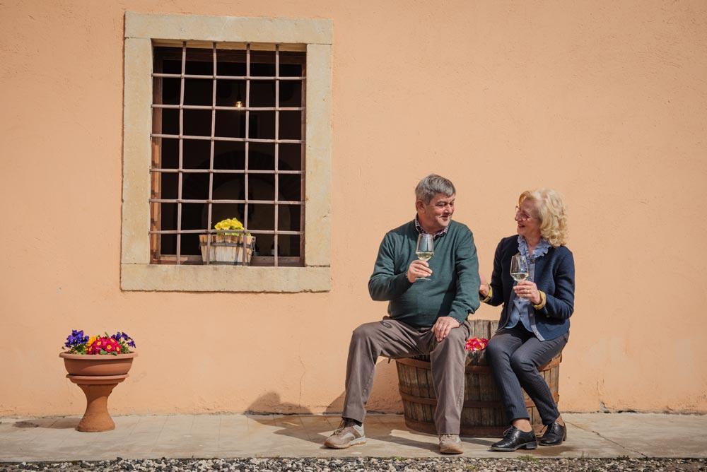 Dino Cavaggioni e Maria Dal Cero
